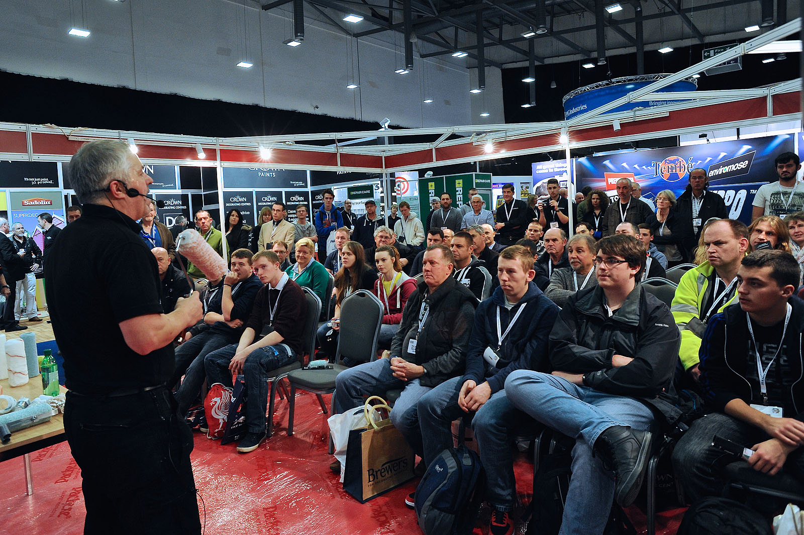 National Painting and Decorating Show 2015 at the Rocoh Arena Coventry