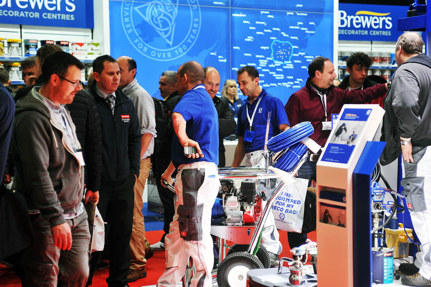 PD Show - Brewers Decorator Centres Stand
