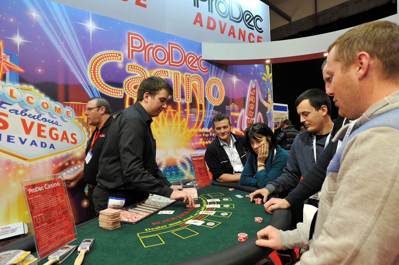 National Painting And Decorating Show - Prodec Advance Casino