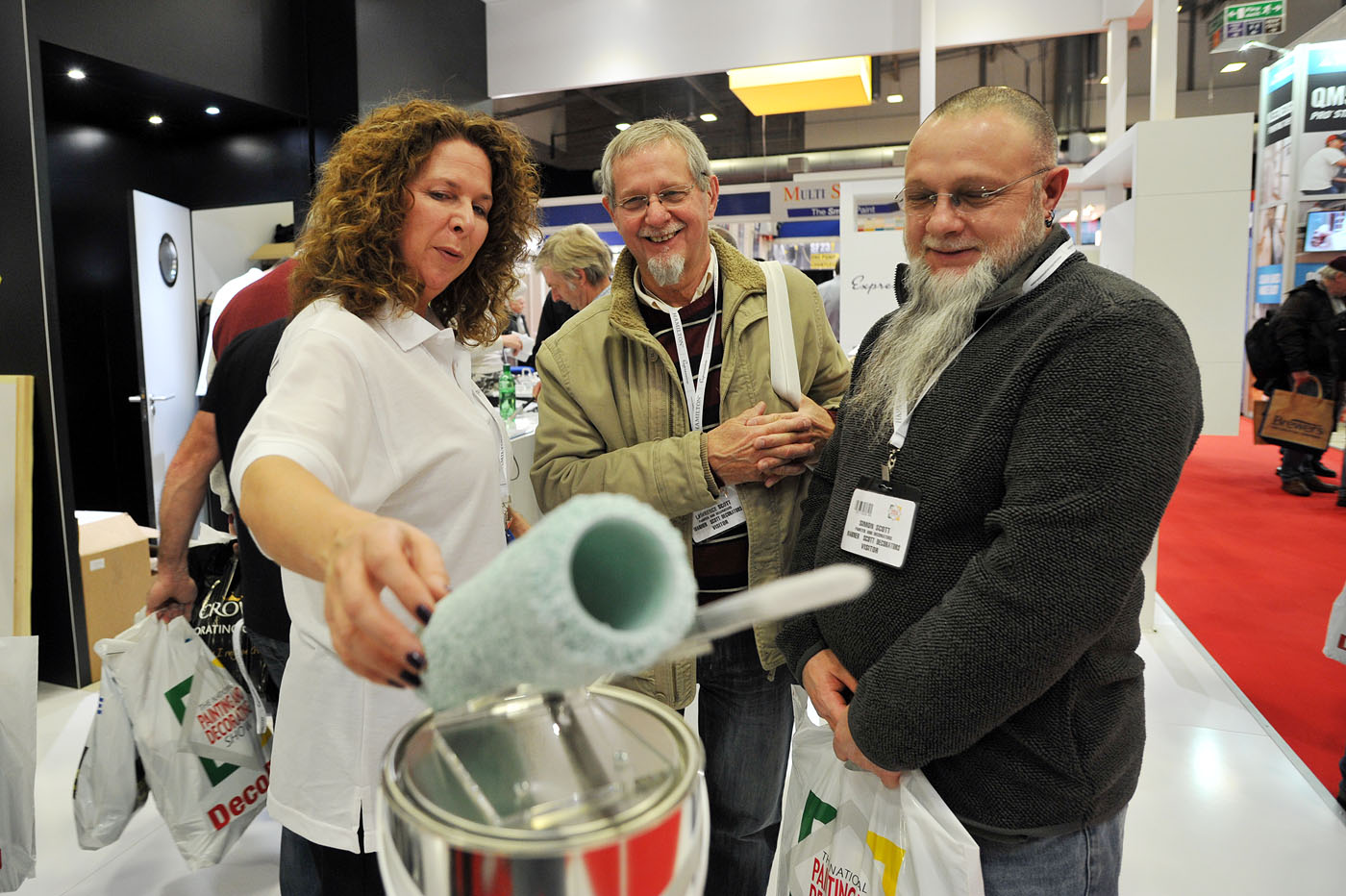 National Painting and Decorating Show demonstrations