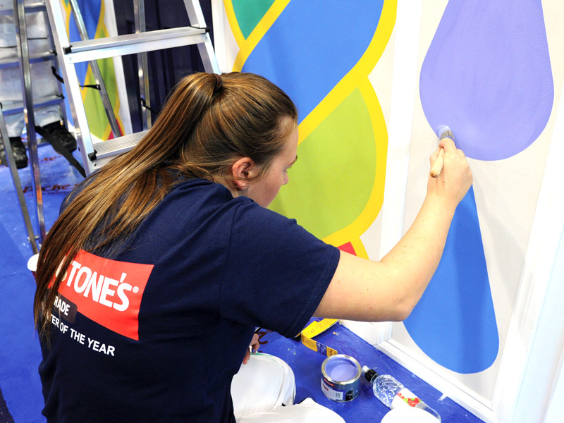 Johnstone's At The Painting And Decorating Show 2018