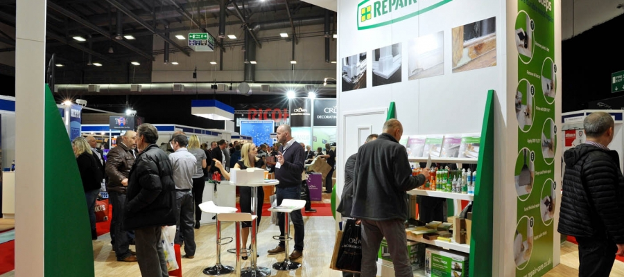 National Painting and Decorating Show - Repair Care stand