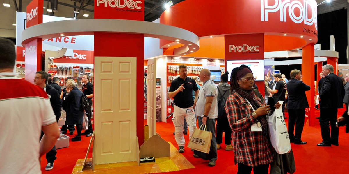 National Painting and Decorating Show - Prodec Stand - Information for Exhibitors