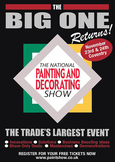 National Painting and Decorating Show 2021 Advertisement